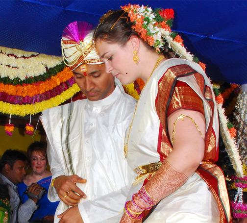 Elizabeth Chennamchetty, Author of ChennaWhat?! Traditional Indian Wedding Photograph